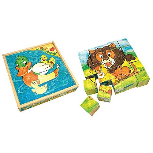 Bino - 84173 - Image cubes - Animaux - 25 pièces