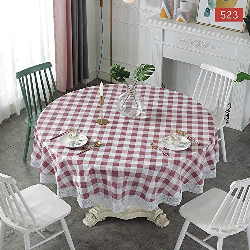 PhantasyIsland.com Mantel Antimanchas Diseño de Carta Rectangular Mantel, Transpirable, Aislamiento Térmico, Restaurante,Cocina, 152CM