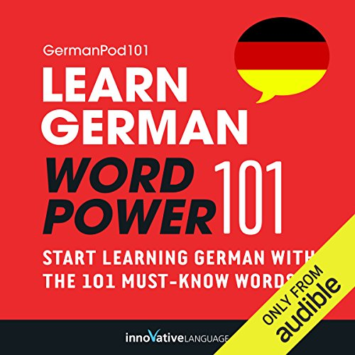 Learn German: Word Power 101 audiobook cover art