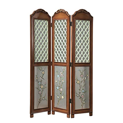 New Even American Retro Style,Porch Living Room Decorative Reestanding Room Divider,Screens for Priv...