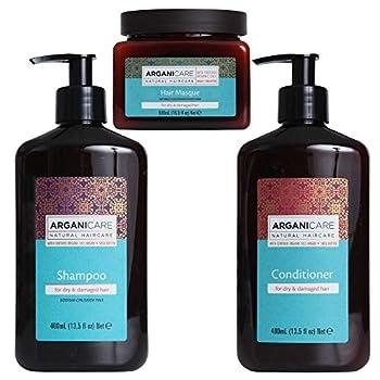 Arganicare Shampoo Conditioner & Hair Mask 3 Piece Value Pack