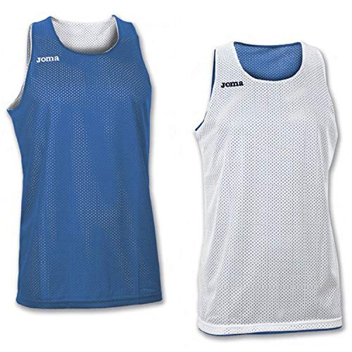 Joma Erwachsene Basketball Trikot 100050.700, blau/Royal, 6XS-5XS
