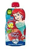 Mellin, Pouch Merenda Disney Principesse Mela - 6 Confezioni da 110 gr