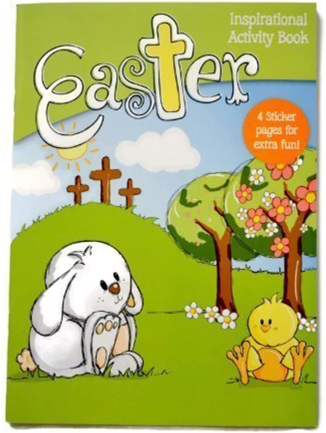 Easter Inspirational Activity Book by Dayspring