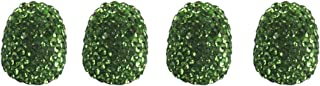 #N/A 4 peças de carro de diamante brilhante anti-ferrugem – Verde, 15 mm