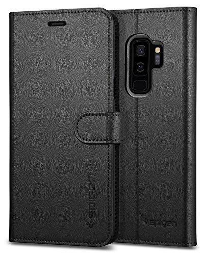 Spigen Cover Wallet S Compatibile con Samsung Galaxy S9 Plus - Nero