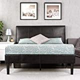 Zinus Gerard Faux Leather Upholstered Platform Bed...