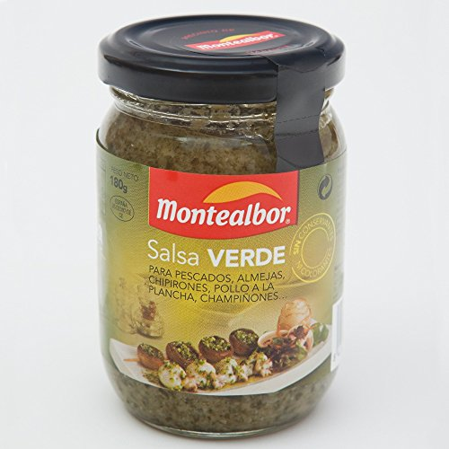 Salsa Verde Montealbor 180g