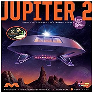 "Moebius MMK913 1:35 Scale ""Lost in Space Jupiter 2"" Model Kit"