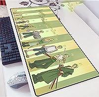 One Piece ゲーミングマウスパッド拡張大型キーボード| 900 x 400 mm | XXLマウスパッド|大型テーブルパッド|完璧な精度と速度-A_800X300X3mm