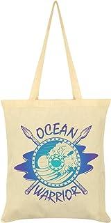 Ocean Warrior Tote Bag Cream 38x42cm