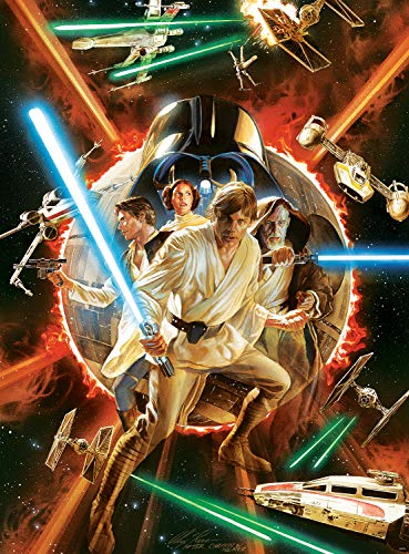 1000-Piece Buffalo Games Star Wars Puzzles: Fine Art Collection #1 Comic Variant Cover $11 & More
