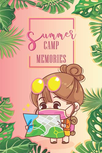 Summer Camp Memories: Journal Adventure with Kawaii Character, Keepsake for writing memories, expressing feelings, and sketching |Interactive Camping ... | Perfect Gift for Campers | Anime lovers.