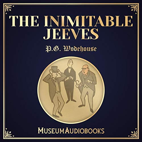 The Inimitable Jeeves audiobook cover art