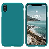 SURPHY iPhone XR Silicone Case, Liquid Silicone Gel Rubber