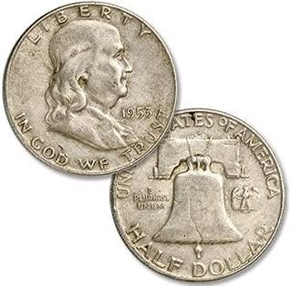 Average Circulated Franklin Half Dollar