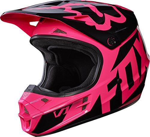 Pink Fox Motocross Helmet