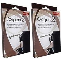 2x oxigent Dr. Neu Limpiador al oxígeno activo de polvo para la limpieza de la máquina de café, elimina I grasas, decontamina y higieniza