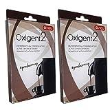 2 x OXIGENT Dr. Neu Detergente all'Ossigeno Attivo in polvere per la pulizia della macchina da caffè, rimuove i grassi, decontamina e igienizza