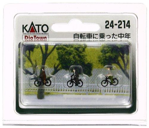 Kato 24-214 Older Cyclists (japan import)