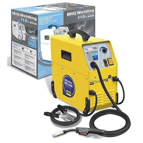 GYS 110 A Fülldraht Schweißgerät einphasig 230 V, gelb, Smartmig 110