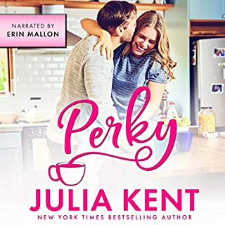Perky audiobook cover art