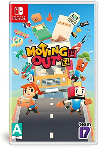 Moving Out - Nintendo Switch - Standard Edition - Nintendo Switch