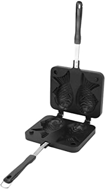 Double Pan Mold Nonstick Waffle Maker, Waffle Bakeware, Waffle Maker, for Home Cookware Cake Maker for Kitchen