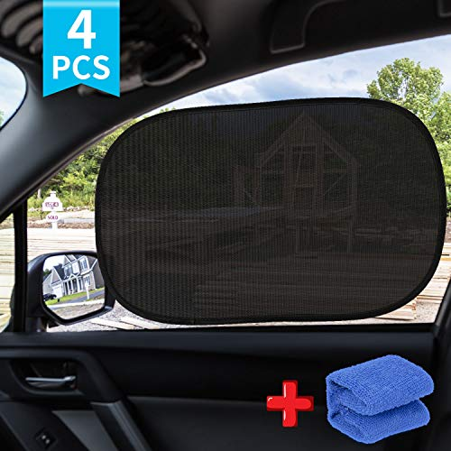 AiBast Car Sunshade 4 Pack – 80 GSM $6.49(50% Off after CODE)
