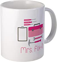 CafePress Mrs. Fix -It Mugs Unique Coffee Mug, Coffee Cup