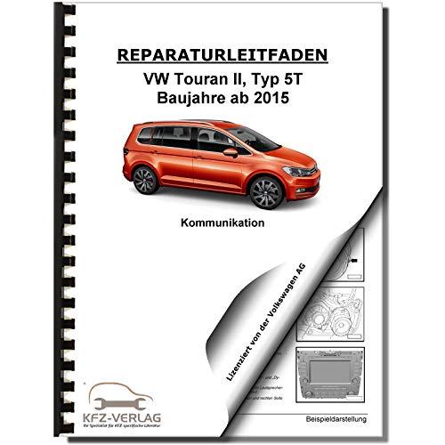 VW Touran Typ 5T ab 2015 Radio Navi Telefon Kommunikation