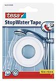 Tesa 56220 StopWater - Nastro di riparazione dell'impianto idraulico, 12m x 12mm, Bianco, 1 pz.
