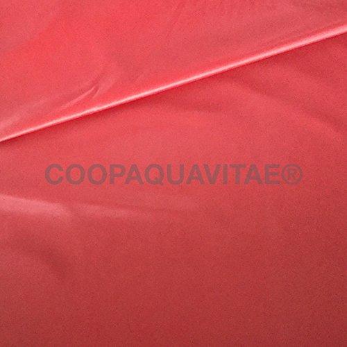 - Senza marca/Generico - Tessuto Idrorepellente Impermeabile Rivestimento DIVANI Esterno Gazebo Stoffa Rosa