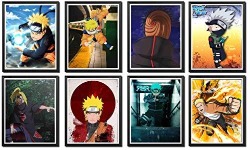 Póster de Naruto con diseño de anime de la colección...