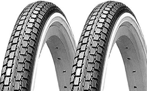 P4B | 2 neumáticos de bicicleta de 26 pulgadas (47-559) | 26 x 1,75 | amplia superficie de apoyo para mayor durabilidad | adecuado para dinamo.