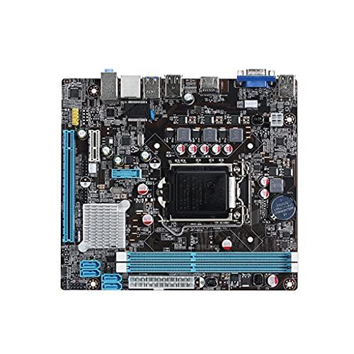 Placa base B75 LGA 1155 PCI-E X16 DDR3 X 2 Ranura de memoria Soporte de interfaz SATA II LGA 1155 Intel 2nd 3rd Gen I3 I 5 I7 VGA + HDMI-compatible SATA3.0 16GB Memory