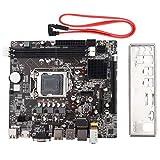 Placa base de computadora de escritorio, Tarjeta de sonido integrada/Tarjeta de red, Placa base LGA 1155 USB3.0 SATA, para Intel B75, Soporte SSD Unidad de estado sólido Transmisión de alta velocidad