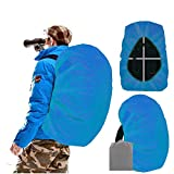Joy Walker Waterproof Backpack Rain Cover for (15-90L) (Acqua, Large (for 40-50L Backpack))