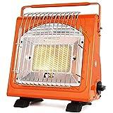Calefacción Chimeneas eléctricas Estufa Interior Portátil Al Aire Libre Camping Al Aire Libre Tipo De Tarjeta del Hogar Gas Licuado De Petróleo Gas Camping Calentador Naranja Regalo
