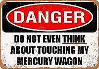 Danger Do Not Thingk Touching My ティンサイン ポスター ン サイン プレート ブリキ看板 ホーム バーために