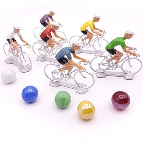 Cofalu Kim 'Play Spielzeug Figur Champion-Set Radfahrer mit Murmeln