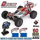 MODELTRONIC Coche RC Profesional Buggy Wltoys XKS 144001 tracción 4X4 Escala 1:14 Alta Velocidad de...