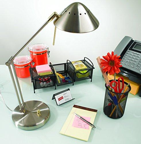 Tensor Halogen Desk Lamp; Brushed Steel