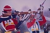 649026 Men's Biathlon A4 Photo Poster Print 10x8