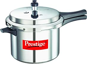Prestige Aluminium Popular Pressure Cooker PEE_10013 5 Litres