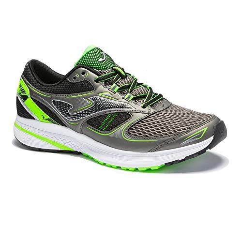 JOMA Speed 2112 Zapatillas de Running para Hombre, Gris/Amarillo, EU 46