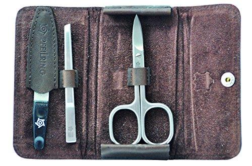 Pfeilring Mountain, étui de poche, cuir de vachette, marron, 3 pièces Manucure, Faux Ongles & Nail Art - Multicolore - Taille Unique