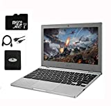 """2020 Newest Samsung Chromebook 11.6"""" Slim Laptop for Business and Student, Intel Celeron N4000, 4GB RAM, 32GB eMMC, up to 12.5 Hours Battery Life, Chrome OS w/64GB Micro SD Card, HESVAP Accessories"""