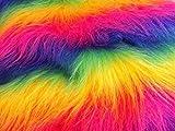 CRS Fur Fabrics Lange Flor Fun Kunstfell Stoff Material