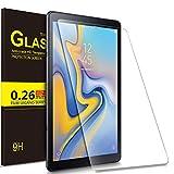 IVSO Displayschutz für Samsung Galaxy Tab A 10.5 SM-T590/T595, 9H Härte, 2.5D, Displayfolie Schutzglas Displayschutz Für Samsung Galaxy Tab A SM-T590/SM-T595 10.5 Zoll 2018, (1 x)